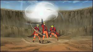 Who helped Naruto to complete the Rasenshuriken?