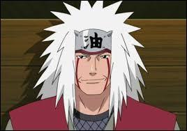 What does the writing on Jiraiya's headband mean?