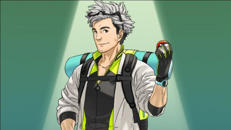 What is the name of the professor in Pokémon GO?