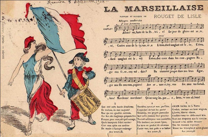 What is the national anthem of France ?