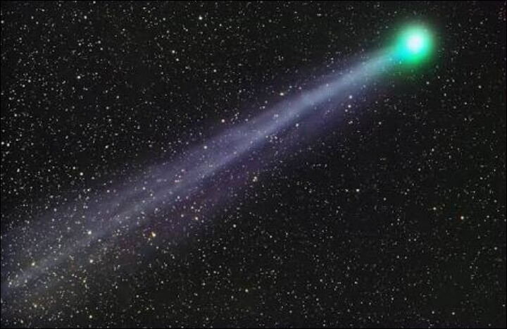 Name the alcoholic comet.