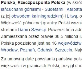 What is the official language of Poland?