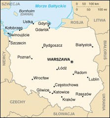 What is the name of the capital of Poland?