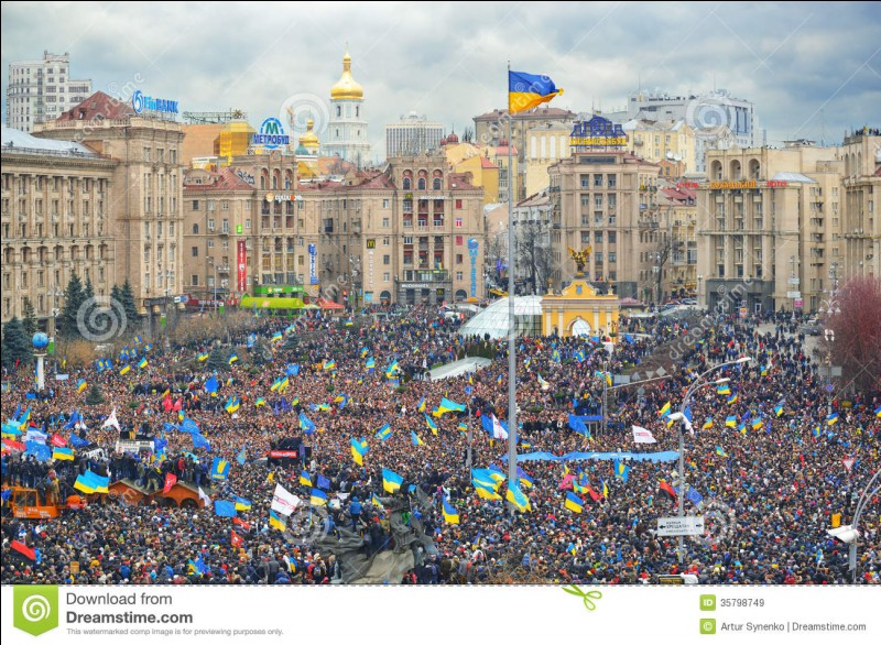 What is Maidan Nezalezhnosti in Kiev?