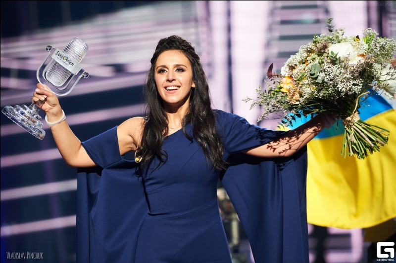 When and where did Jamala win the Eurovision Song Contest?