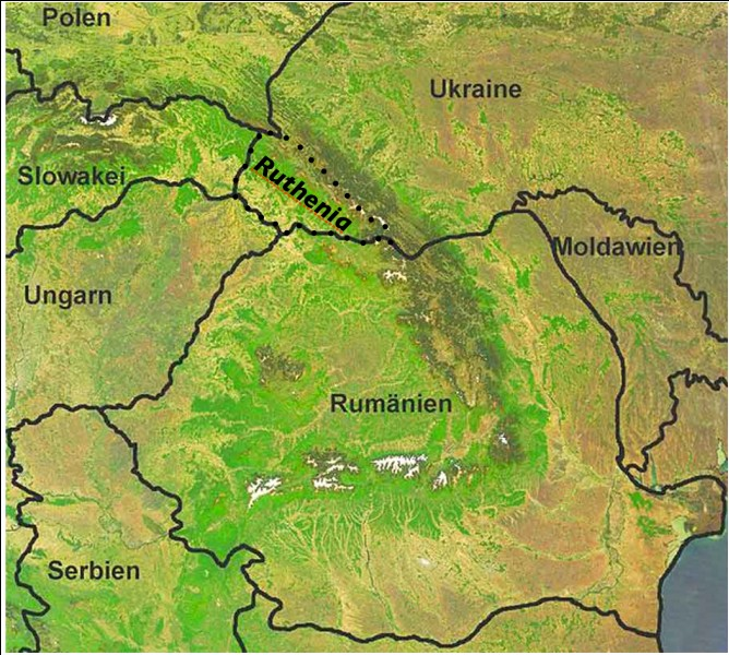 Which mountain range does the highest mountain in Ukraine belong to?