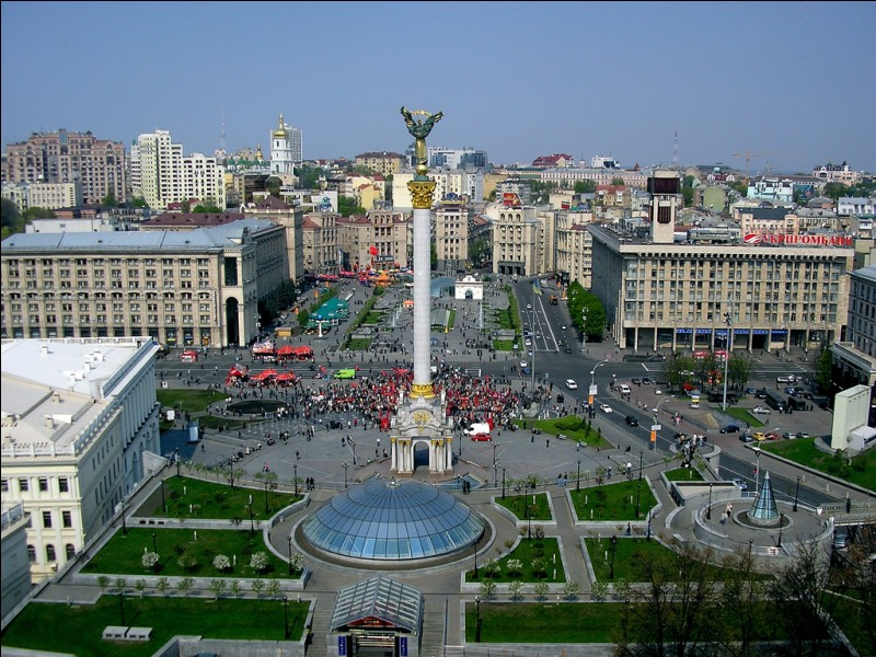 What is the capital city of Ukraine?