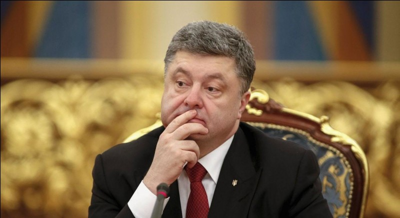 Who is the president of Ukraine?