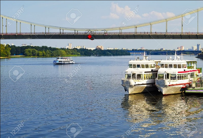 What river is Kiev situated on?