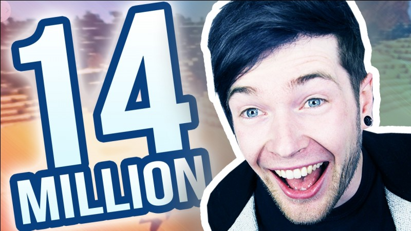 How many subscribers does Dan have on the 31st of January 2017?