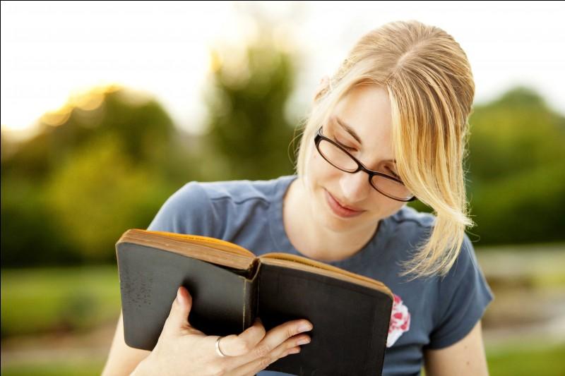 I read :