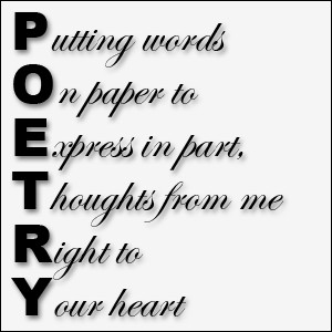 Poetry :
