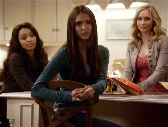 The TV adaptation completely eliminates one of Elena's best friends, who is named :
