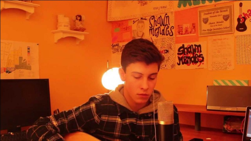 What is Shawn's favorite cover of the songs he sang? 