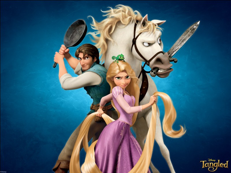 """""""Tangled"""" is amazing! But the Brothers Grimm version is actually really sad. What is one of the differences between the two?"""