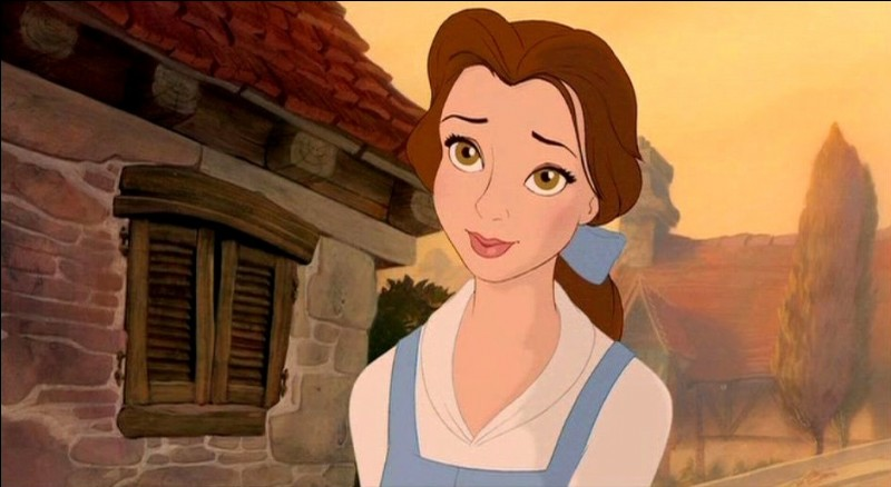"""In the original """"Beauty and the Beast"""" story, Belle :"""