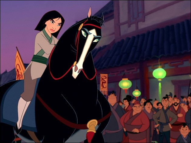 In Disney's version, Mulan's true identity is discovered after just one battle. In the original Chinese poem, Mulan :