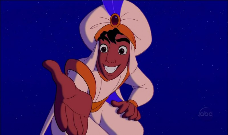 """In the version of """"Aladdin"""" told in """"The Book of One Thousand and One Arabian Nights,"""" Jafar's character :"""