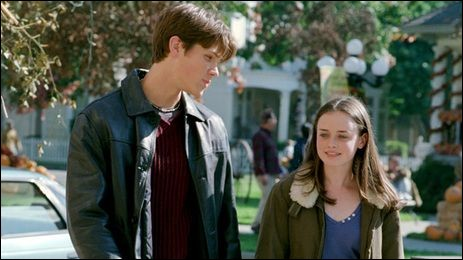 When Rory first meets Dean, what two books does he mention having seen her reading?