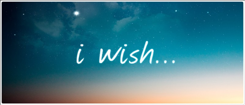 If you had one wish that was guaranteed to come true, what would you wish for?