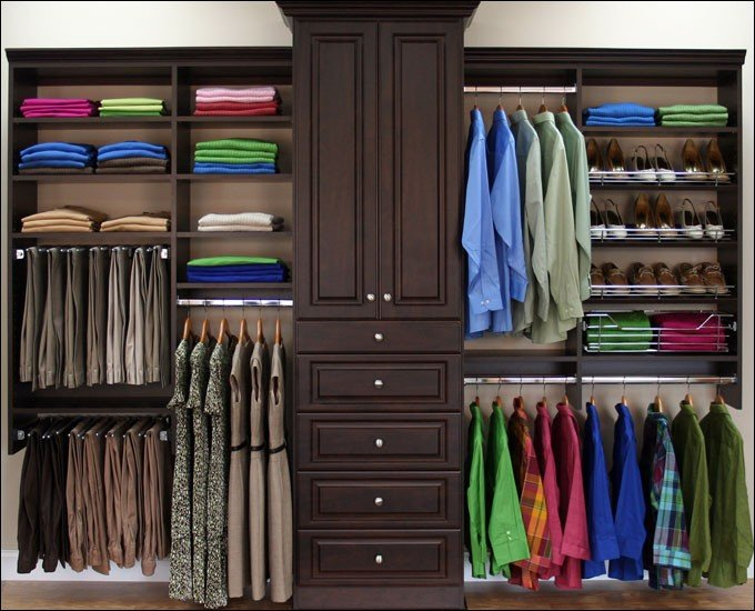 Your wardrobe is mostly full of :
