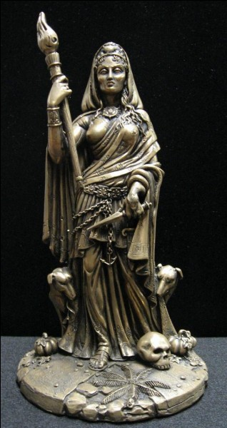 Hecate is goddess of :