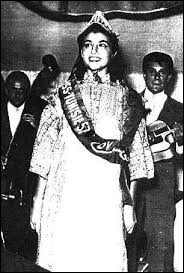 Who was elected Miss Tunisia in 1957 ?