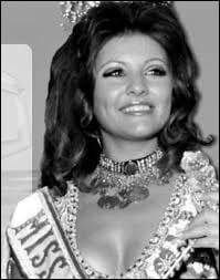 Who was elected Miss Lebanon in 1977 ?