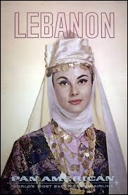 Who was elected Miss Lebanon in 1961 ?