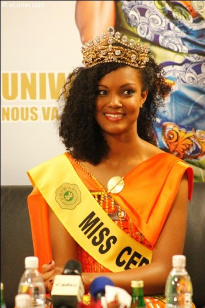Who was elected Miss Cedeao in 2013 ?