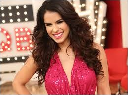 Who was elected the most beautiful Latin woman in 2012 ?