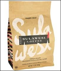 "Which country is the origin of this type of coffee ""Sulawesi"" 