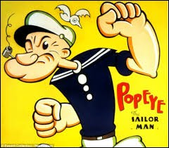What makes Popeye so strong?