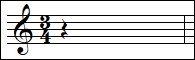 Select the correct rhythm to complete the measure. Select « Don't know » if you don't know the answer.