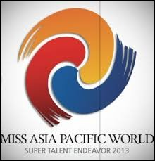 This logo belongs to the Miss Asia Pacific World Federation :