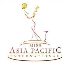 This logo belongs to the Miss Asia Pacific International Federation :