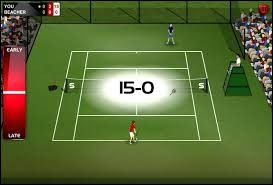 B) At the beginning of a tennis game, when both sides have no score, the game is ... .