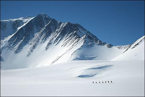 What is the highest peak in Antarctica?