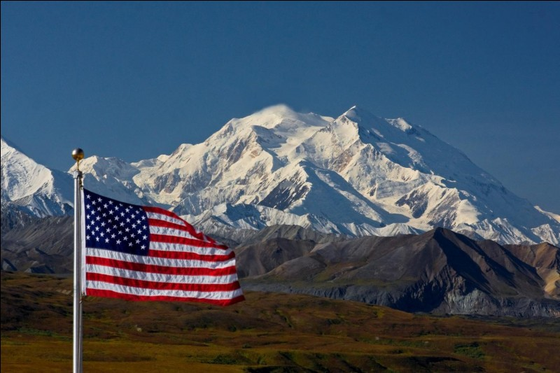 The mountain ..., formely known as Mount McKinley, is the most prominent peak in North America.