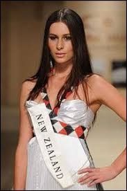 Who was elected as the most beautiful woman on New Zealand in 2008 ?