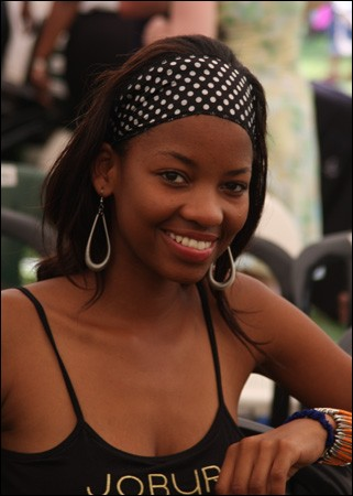 Who was elected most beautiful woman on Botswana in 2007 ?