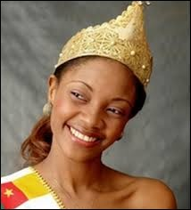 Who was elected as the most beautiful woman on Cameroon in 2010 ?