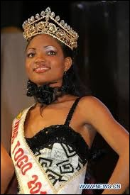 Who was elected most beautiful woman on Togo in 2010 ?
