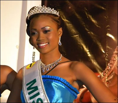 Who was elected most beautiful woman on Togo in 2012 ?