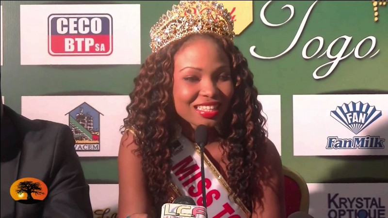Who was elected most beautiful woman on Togo in 2014 ?