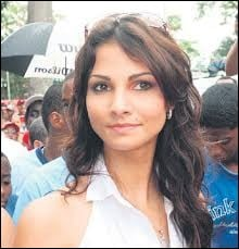 Who was elected most beautiful woman on Panama in 2008 ?