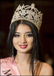 Who was elected most beautiful woman in Kazakhstan in 2011 ?