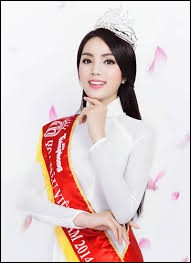 Who was elected most beautiful woman in Vietnam in 2014 ?