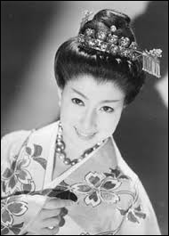 Who was elected as the most beautiful woman on Japan in 1950 ?
