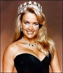 Who was elected most beautiful woman on California in 1992 ?